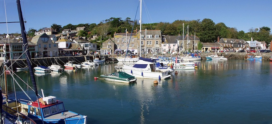 Boats in Padstow, Cornwall