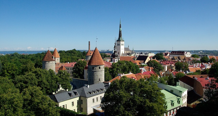 Tallinn - wonderful travel location in Estonia